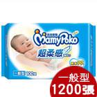 滿意寶寶濕巾一般型補充包100pX12包(箱)