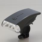 日本朝日-流線型白光 LED 自行車頭燈(黑)(DOP-HL100-BK)