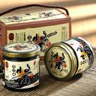 弘益 傳100^%高鈣純黑芝麻醬^(300g×2罐 盒^)×3盒