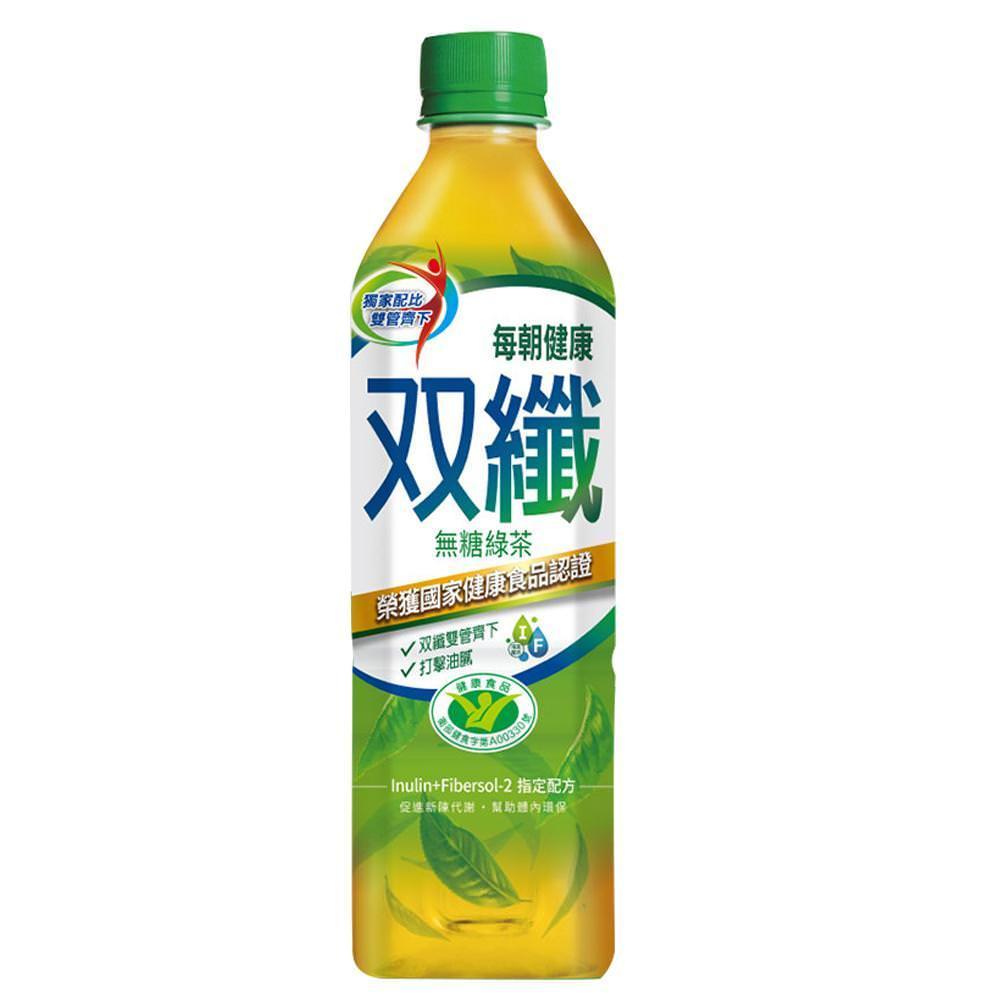 每朝健康雙纖綠茶 650mlX24入/箱