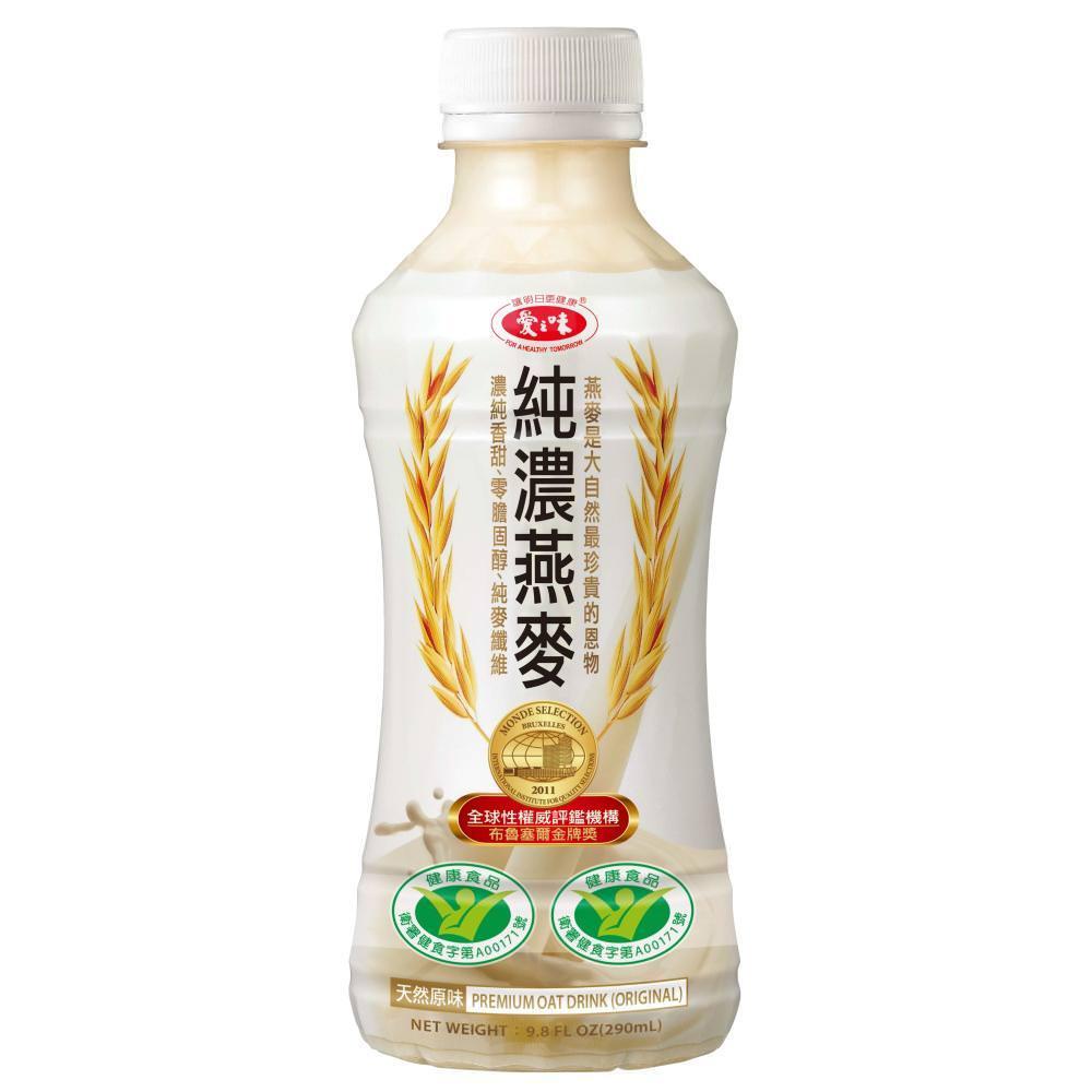 【愛之味】純濃燕麥290ml(24瓶/箱)x2箱