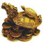 (小)龍龜 精緻實心銅雕